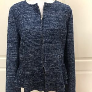 Banana Republic Peplum Wool Blend Jacket